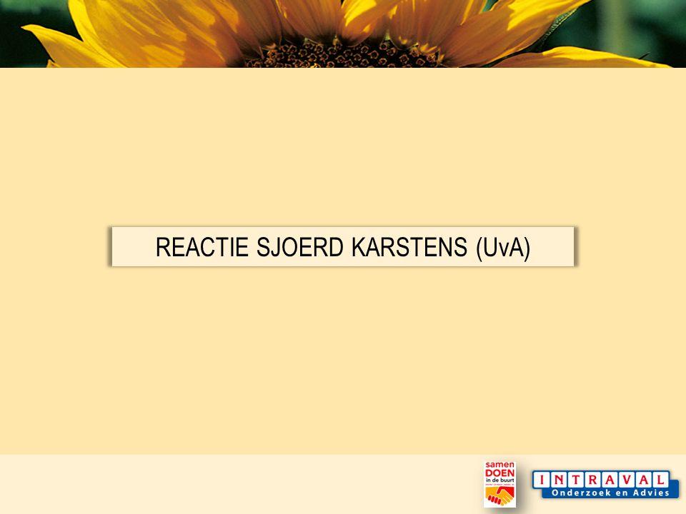 REACTIE SJOERD KARSTENS (UvA)