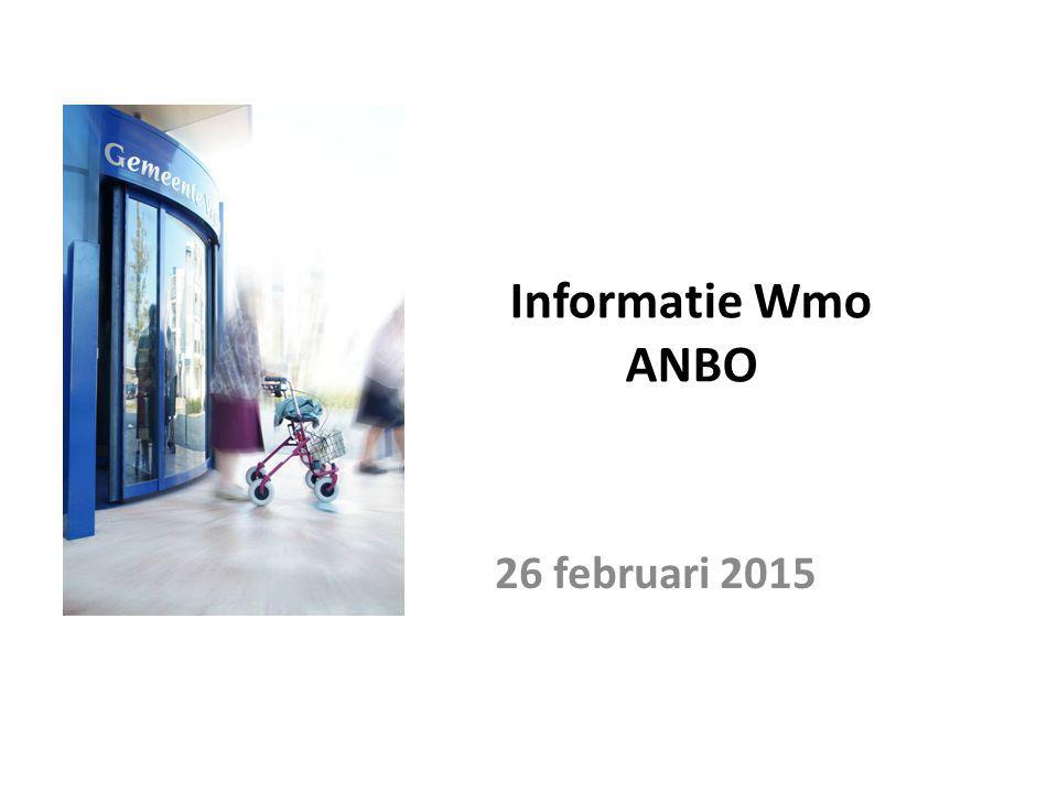 Informatie Wmo ANBO 26 februari 2015