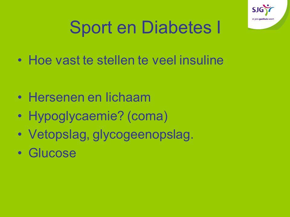 Sport en Diabetes I Hoe vast te stellen te veel insuline Hersenen en lichaam Hypoglycaemie.