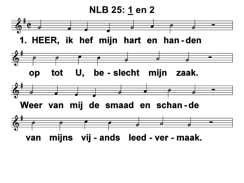 NLB 25: 1 en 2