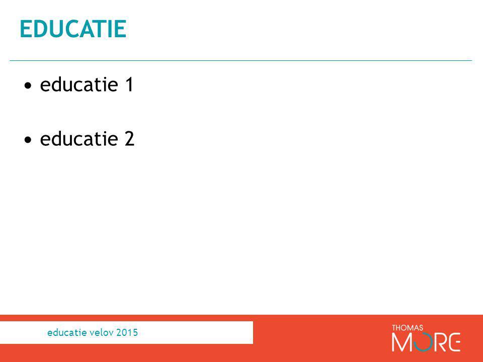 educatie 1 educatie 2 EDUCATIE educatie velov 2015