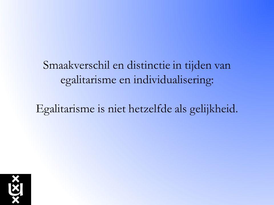 Weerbarstige cultuurpatronen Zelfbeheersing en lange-termijnvisie vs.