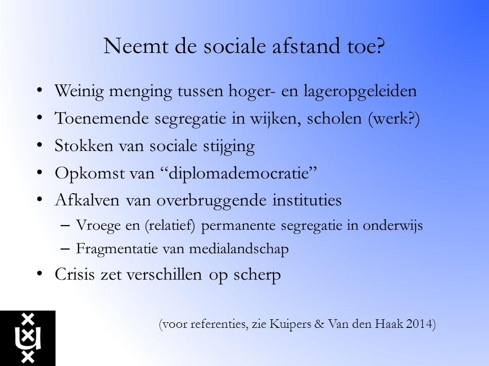 De paradox van het Nederlandse egalitarisme Nederland is nog altijd een relatief homogeen land.