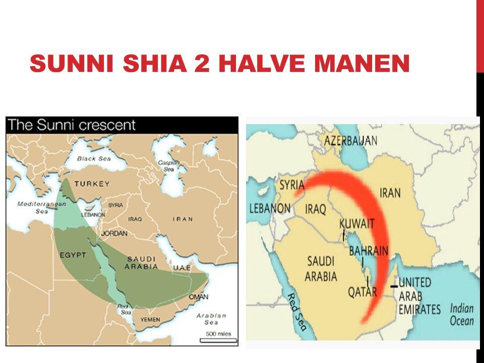 SUNNI SHIA 2 HALVE MANEN