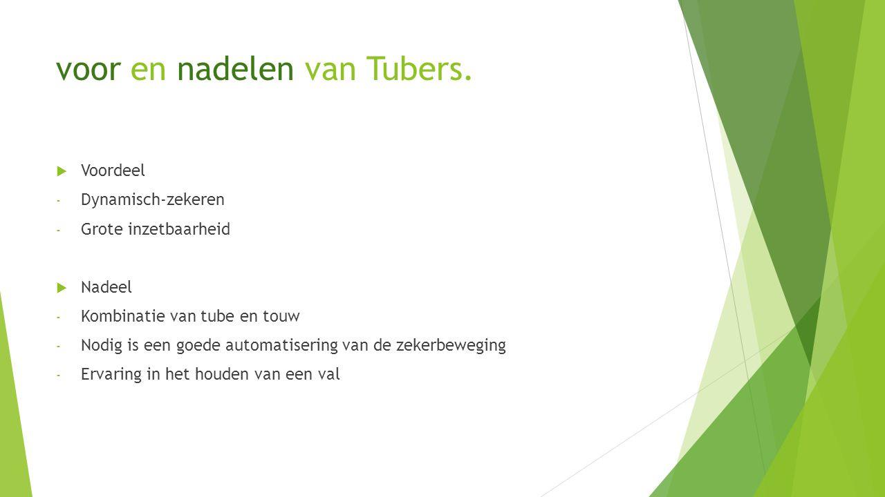 voor en nadelen van Tubers.