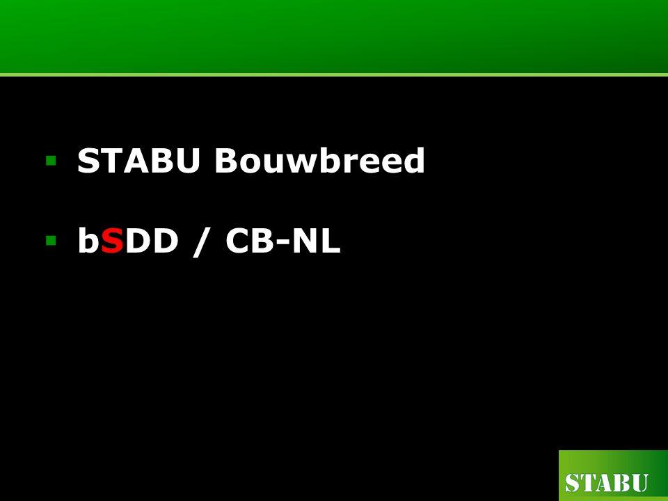  STABU Bouwbreed  bSDD / CB-NL