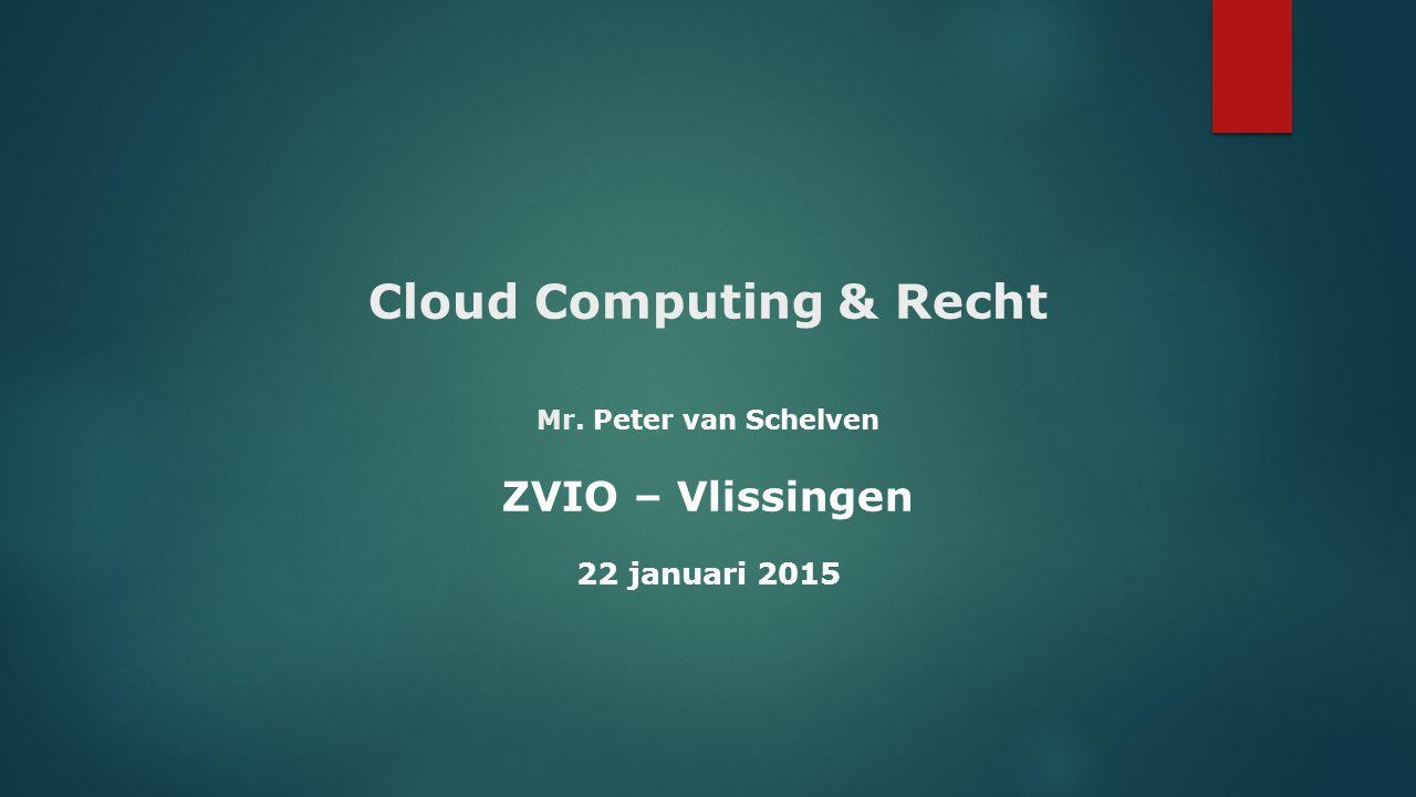 Algemene knelpunten Cloud Computing - Geen eenduidig begrippenkader + taalvervuiling (outsourcing, ASP, SaaS, PaaS, IaaS, hosting etc.).