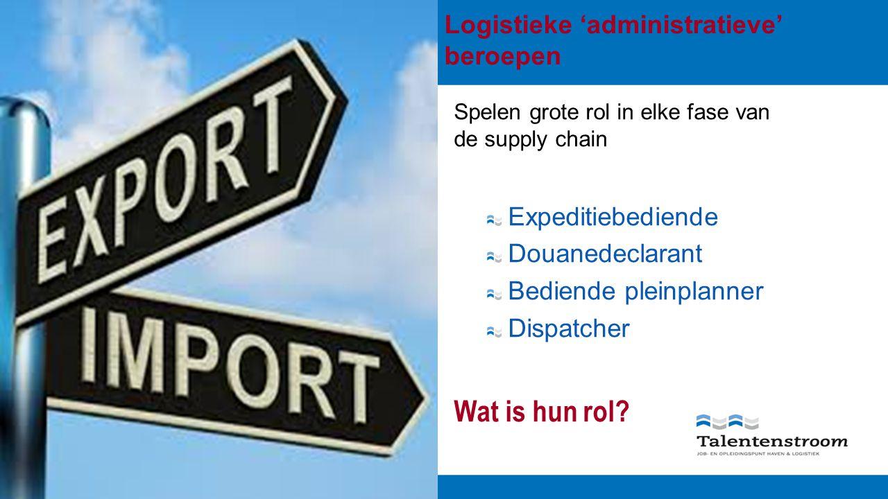 Beroepskwalificatie Dispatcher Goederenvervoer 1.Globaal 1.1 Titel 1.2 Definitie 1.3 Niveau 1.4.