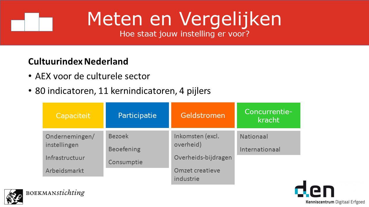 Capaciteit Ondernemingen/ instellingen Infrastructuur Arbeidsmarkt Geldstromen Inkomsten (excl.