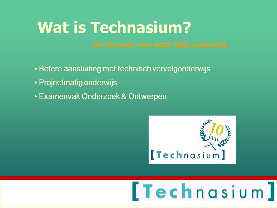 Wat is Technasium.