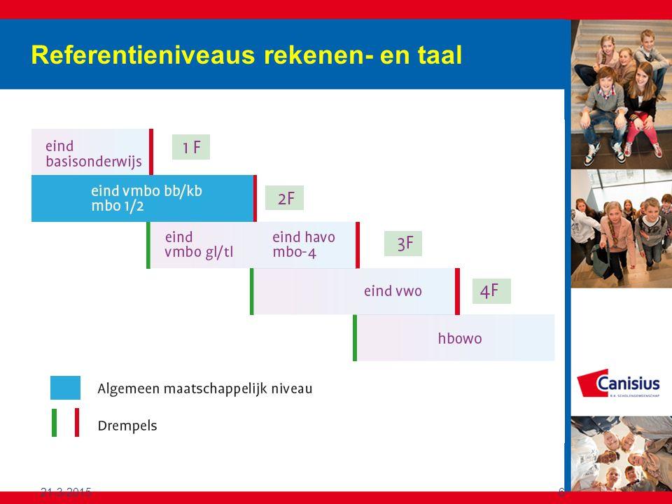 21-3-20156 Referentieniveaus rekenen- en taal