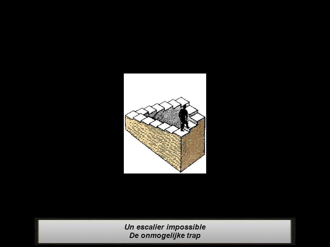 Un escalier impossible De onmogelijke trap