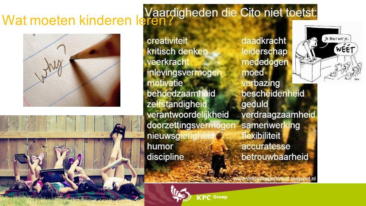 Wat moeten kinderen leren?