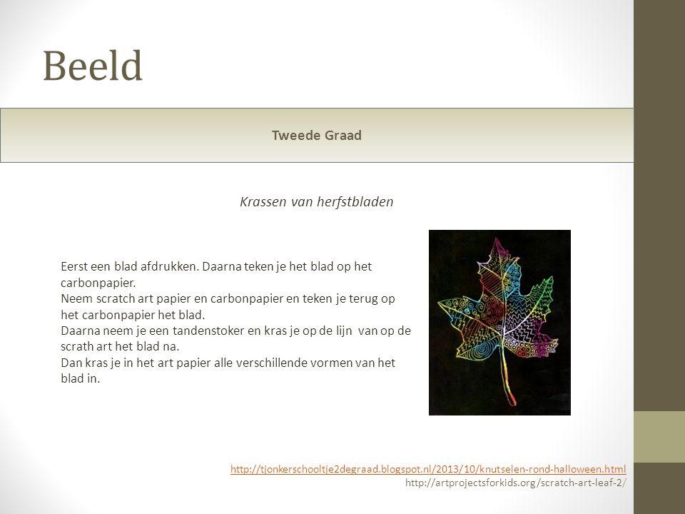 Beeld Tweede Graad http://tjonkerschooltje2degraad.blogspot.nl/2013/10/knutselen-rond-halloween.html http://artprojectsforkids.org/scratch-art-leaf-2/