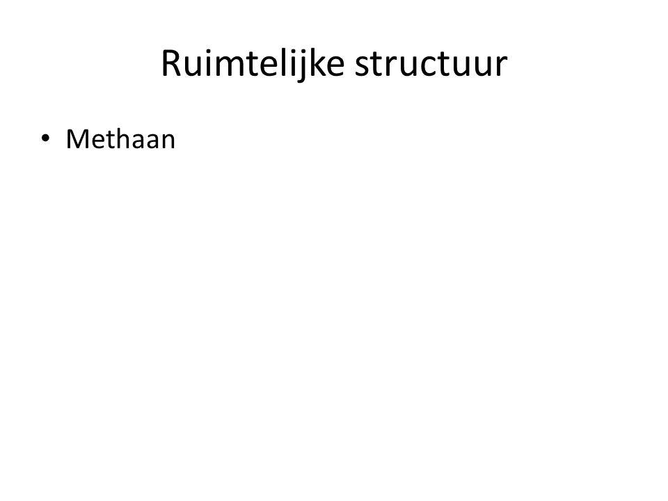 Samenvattend Atoom heeftomringing - 4 enkelvoudige bindingentetraedisch