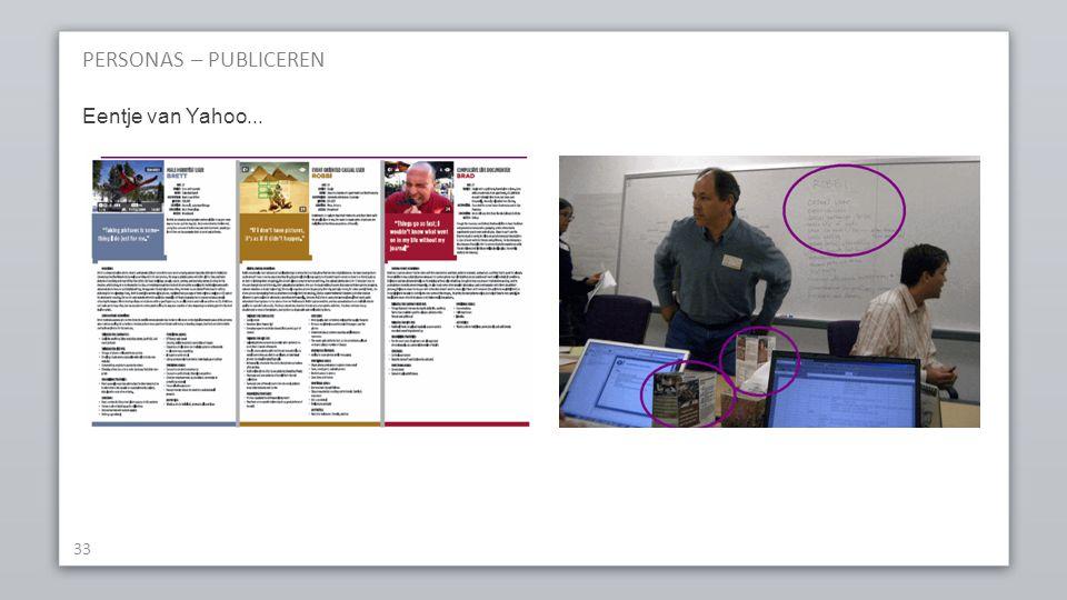 PERSONAS – PUBLICEREN 33 Eentje van Yahoo...