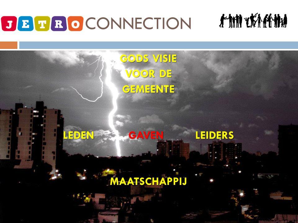 JETRO - CONNECTION GODS VISIE VOOR DE GEMEENTE LEDEN GAVEN LEIDERS MAATSCHAPPIJ