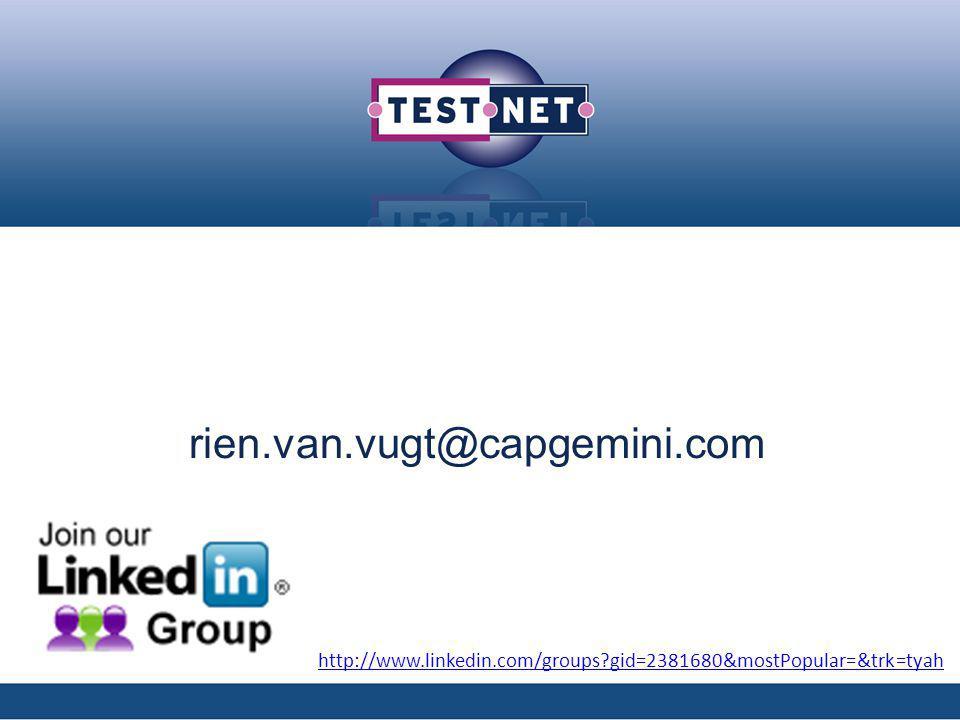 rien.van.vugt@capgemini.com http://www.linkedin.com/groups?gid=2381680&mostPopular=&trk=tyah