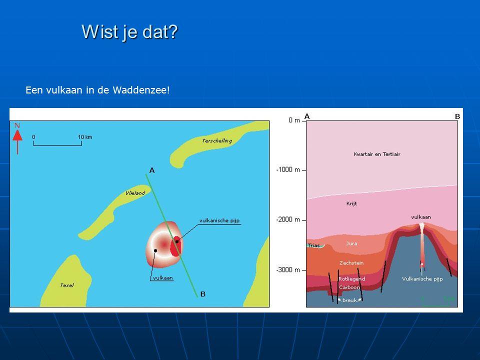 Wist je dat? Een vulkaan in de Waddenzee!
