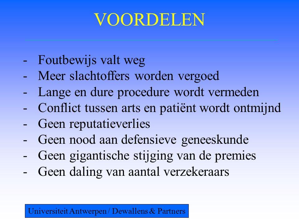 NADELEN -Ongevallenpreventie.-Definitie vergoedbaar evenement.