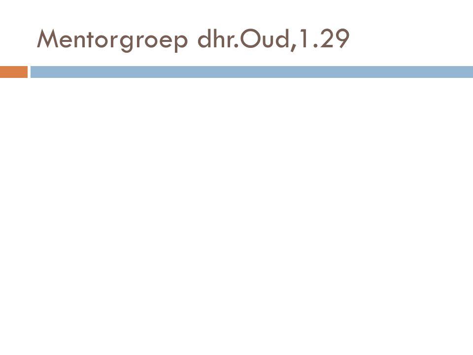 Mentorgroep dhr.Oud,1.29