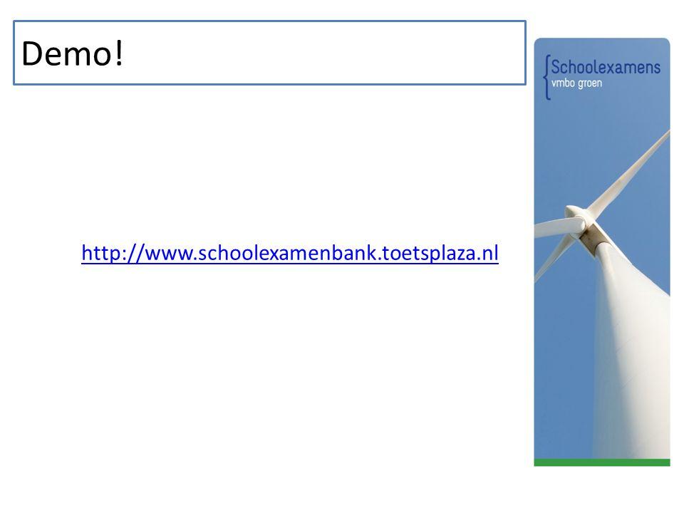 Demo! http://www.schoolexamenbank.toetsplaza.nl