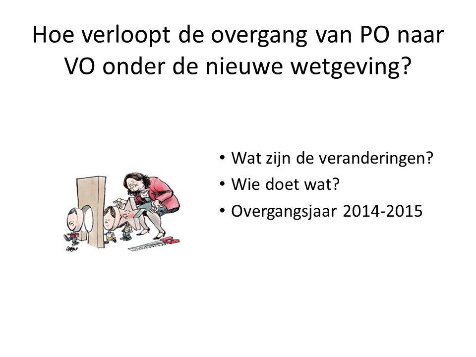 Planning en procedure overstap PO/VO POVO procedure Planning en procedure overstap PO/VO Noord- Kennemerland Aanmelding en toewijzing van leerlingen met extra onderwijsbehoefte Advieswijzer Formulier warme overdracht Overstapdossier OSO (zie www.swvponoord-kennemerland.nl en www.swvnk.nl )www.swvponoord-kennemerland.nl www.swvnk.nl