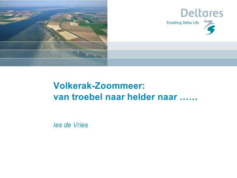 Volkerak-Zoommeer: van troebel naar helder naar …… Ies de Vries