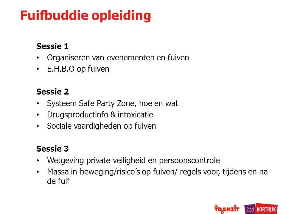 Overzicht fuiven 2014 / 2015 Vraag naar data aan fuifcoach