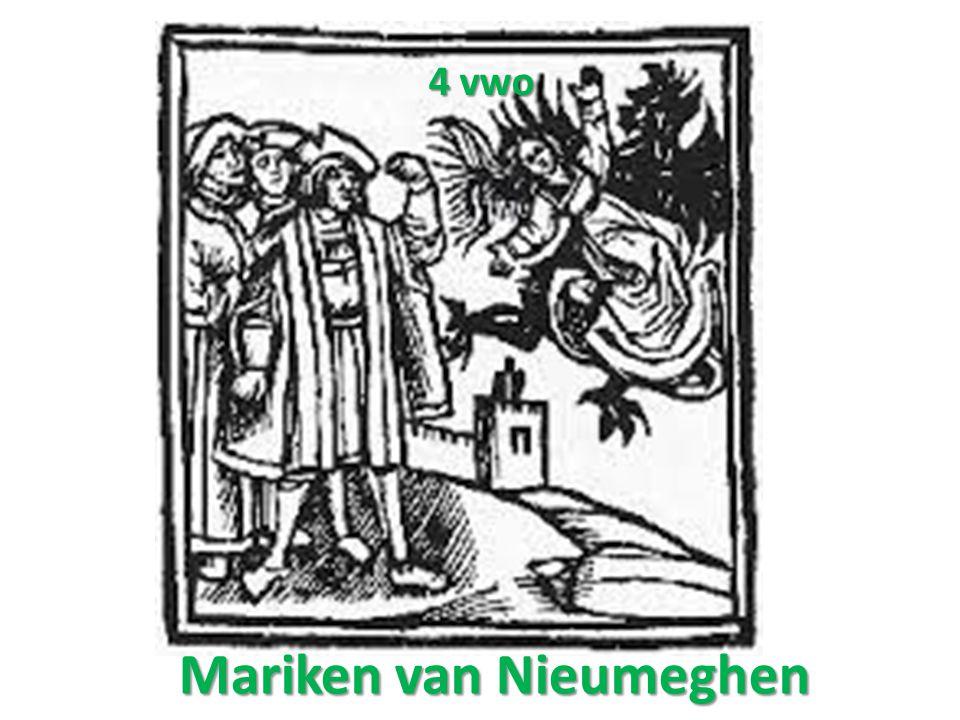 Mariken van Nieumeghen 4 vwo