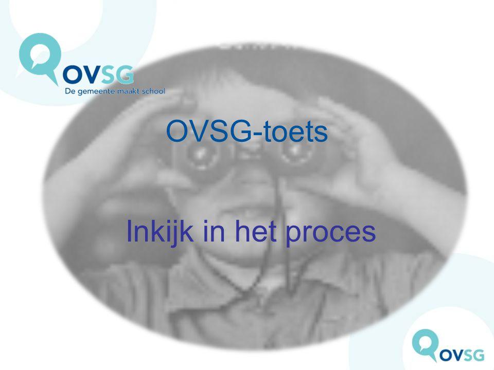 OVSG-toets Inkijk in het proces