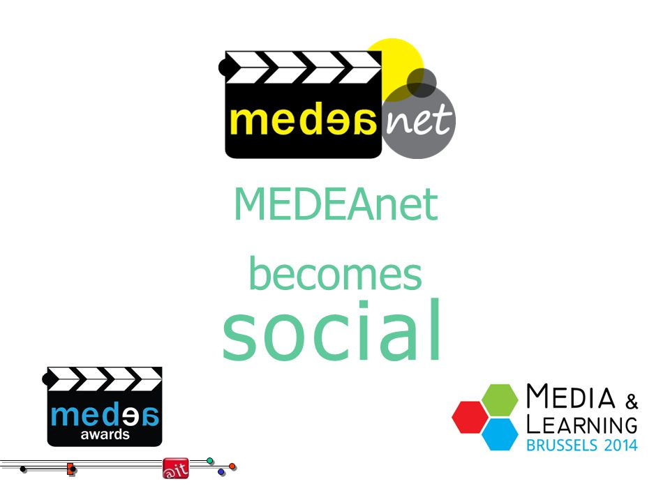 MEDEAnet becomes social