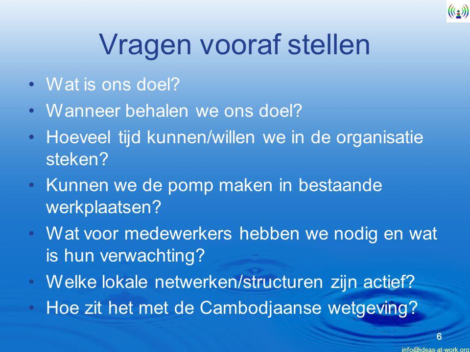 info@ideas-at-work.org 17 Arkun Tjeran Bedankt