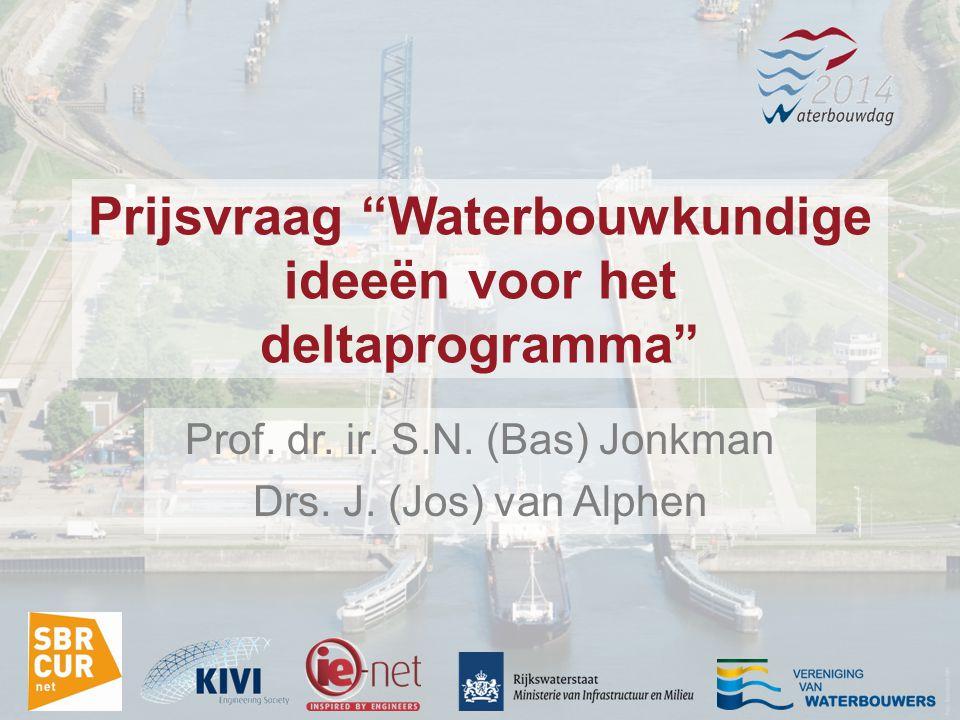Prijsvraag Waterbouwkundige ideeën voor het deltaprogramma Prof.