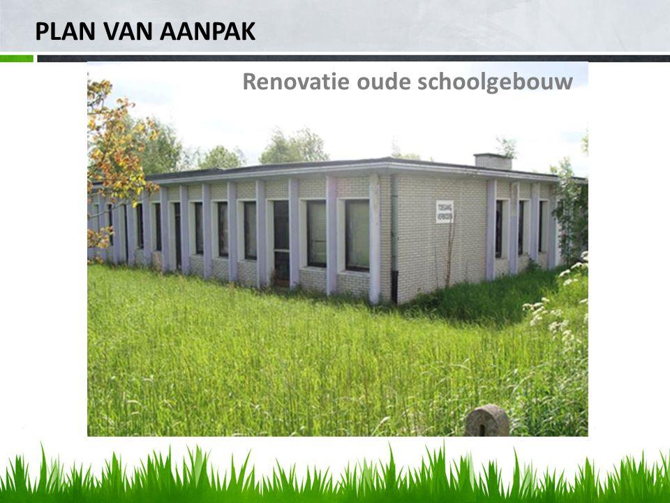 PLAN VAN AANPAK Renovatie oude schoolgebouw
