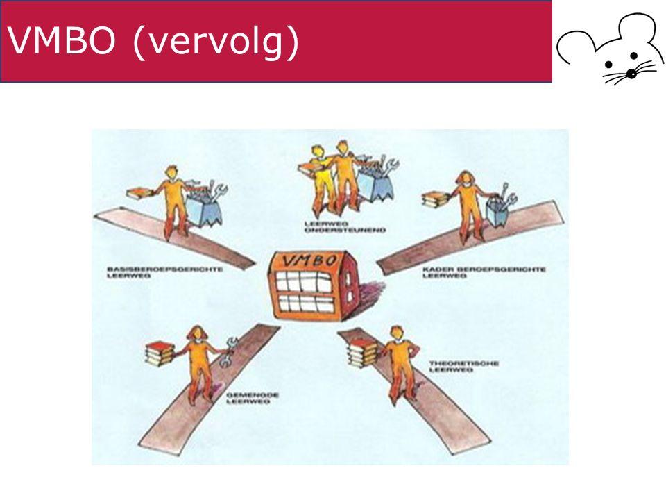VMBO (vervolg)