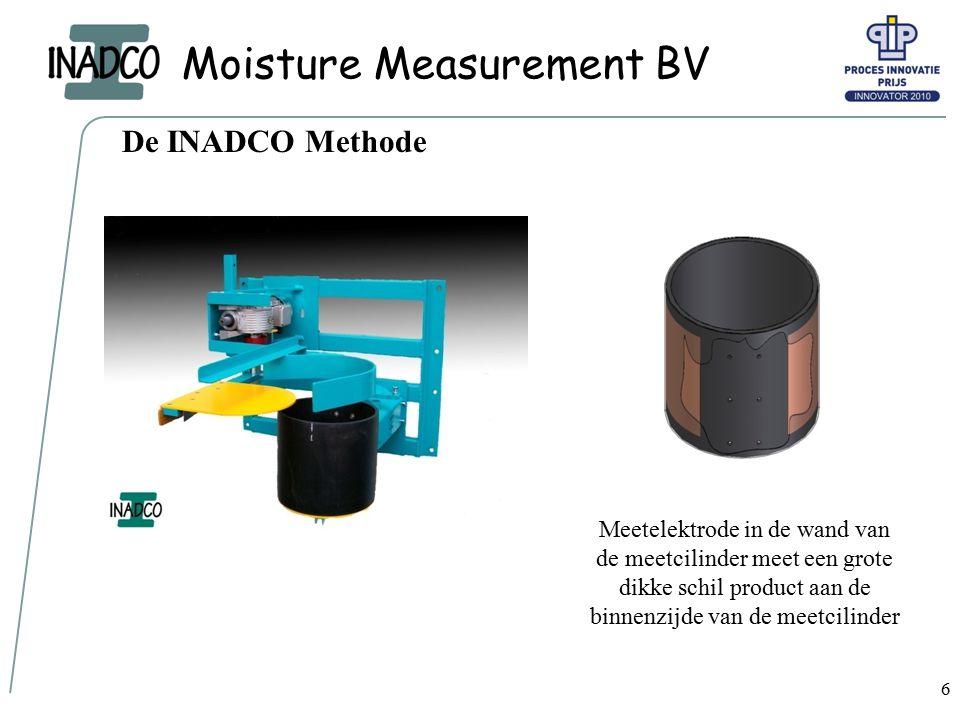 Moisture Measurement BV 7 De INADCO Methode in bedrijf Deze video is ook te zien op: www.inadco.nl/taal/nederlands/video.htmwww.inadco.nl/taal/nederlands/video.htm
