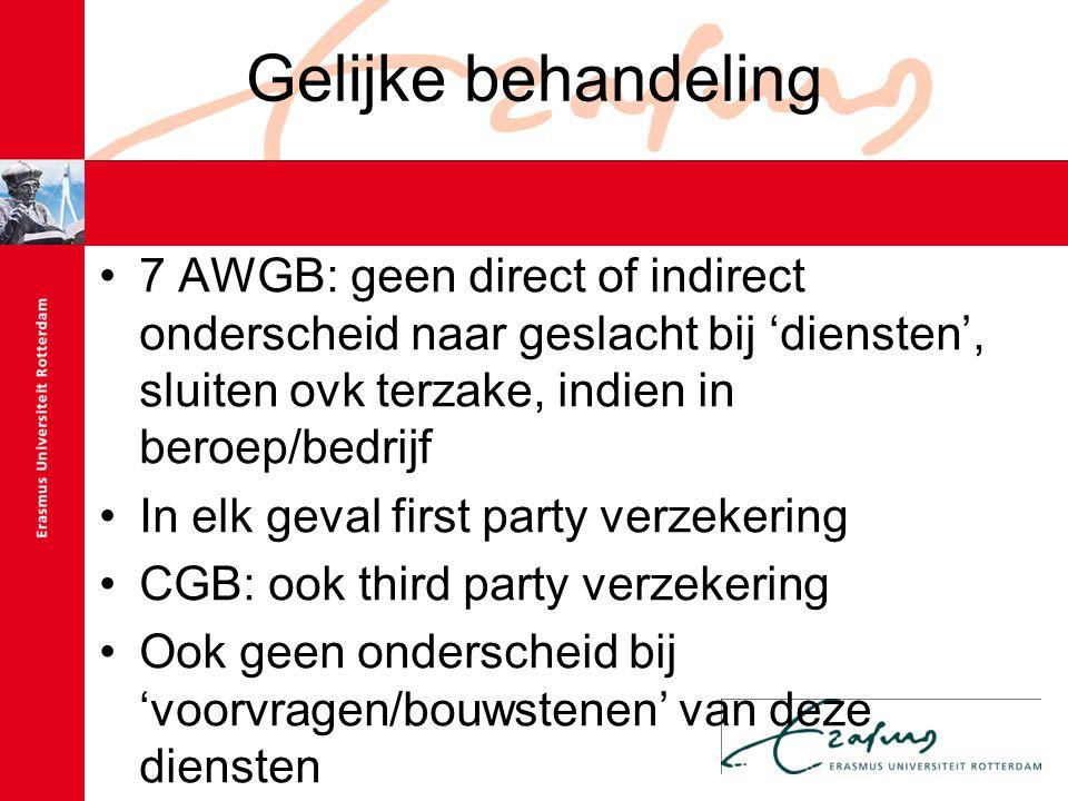Statistische gegevens CGB: gebruik is neutraal, tenzij…(vb.
