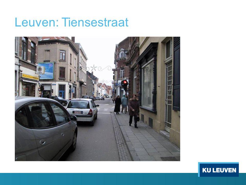 Leuven: Tiensestraat.