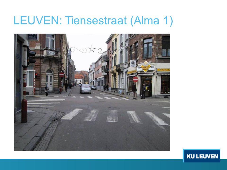 LEUVEN: Tiensestraat (Alma 1).