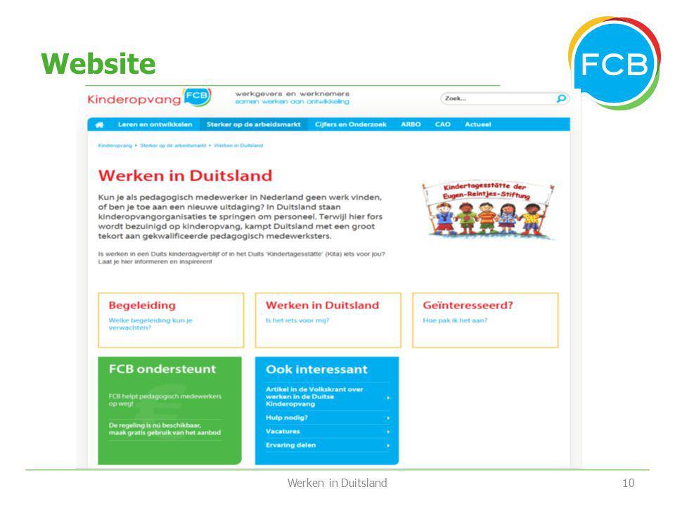 Website Werken in Duitsland10