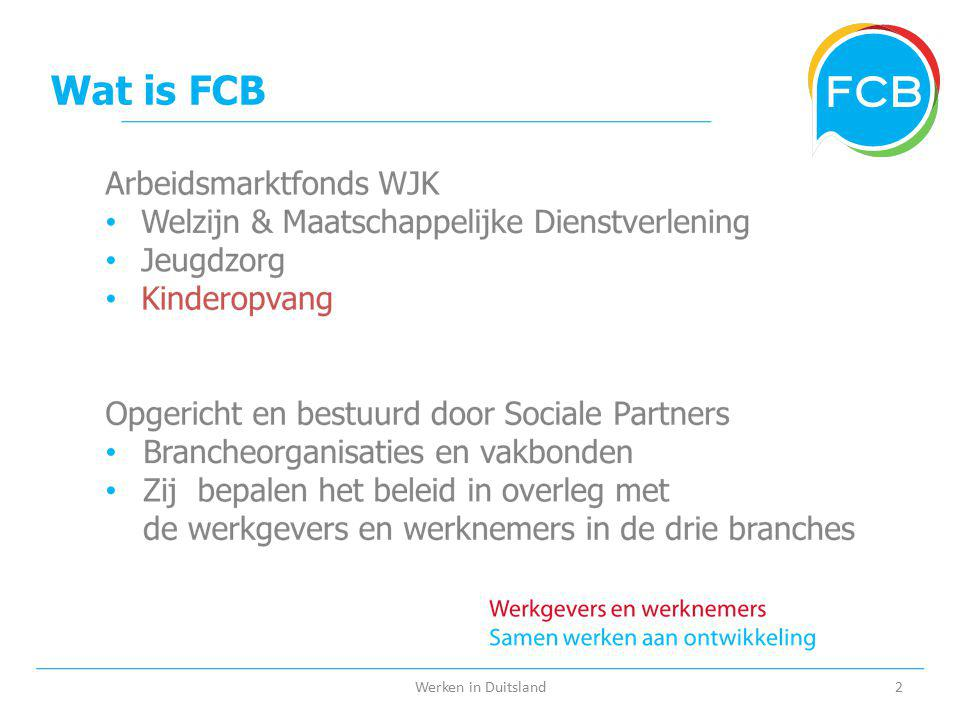 Wat is FCB Werken in Duitsland2