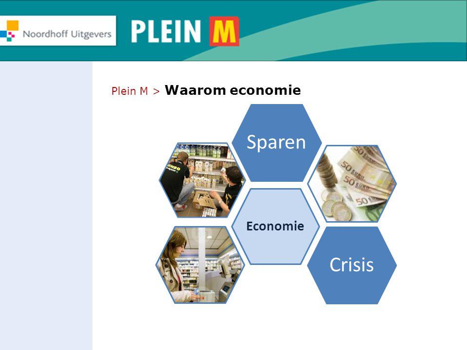 Plein M > Waarom economie Economie SparenCrisis