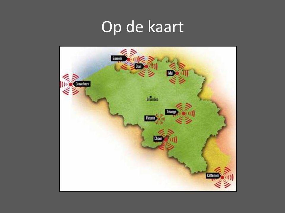 Op de kaart