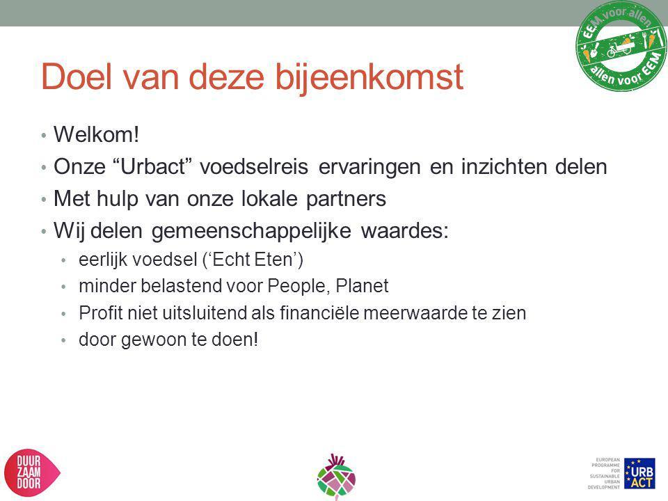 Agenda Stadslandbouw