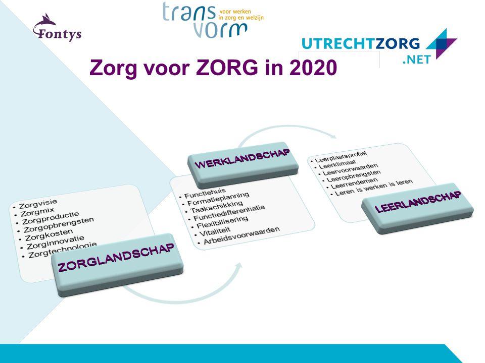 Zorg voor ZORG in 2020