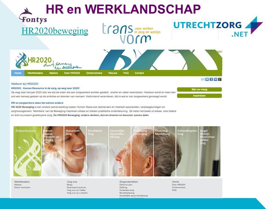 HR en WERKLANDSCHAP HR2020beweging