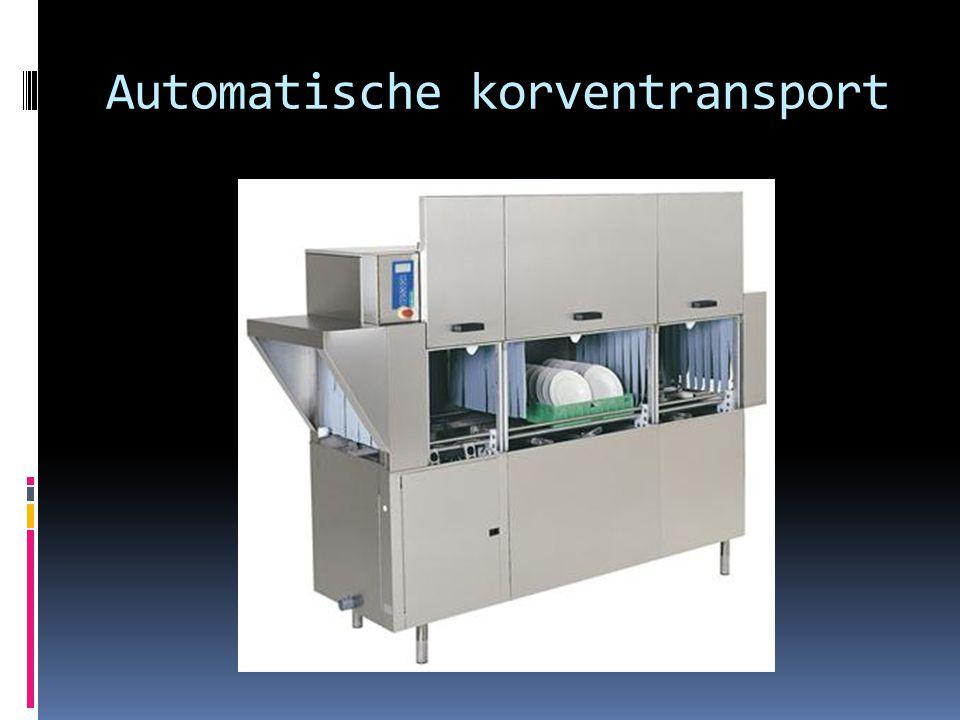 Automatische korventransport