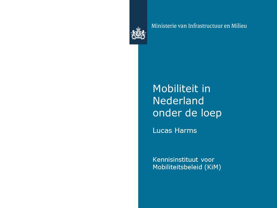 Mobiliteitsbeeld 2014 KiM Kennisinstituut voor Mobiliteitsbeleid www.kimnet.nl