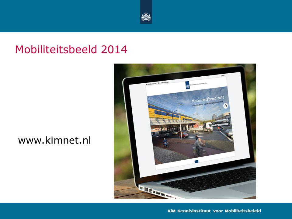 Mobiliteitsbeeld 2014 KiM Kennisinstituut voor Mobiliteitsbeleid